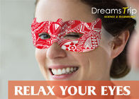 Magic Visible Steam Eye Mask For Dry Eyes Or Relax