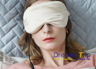 Electric Heated Cotton Silk Eye Mask with USB Controller Aromatherapy Eye Mask with Lavender
