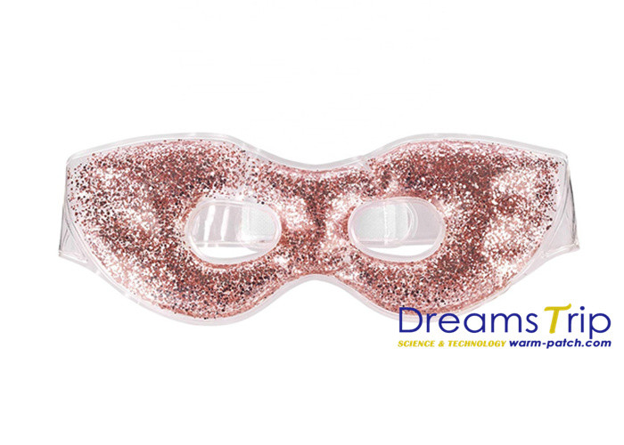 Colorful Diamond Gel Sleep Mask Beads Eye Patch Pack Outdoor for Reading OEM Design