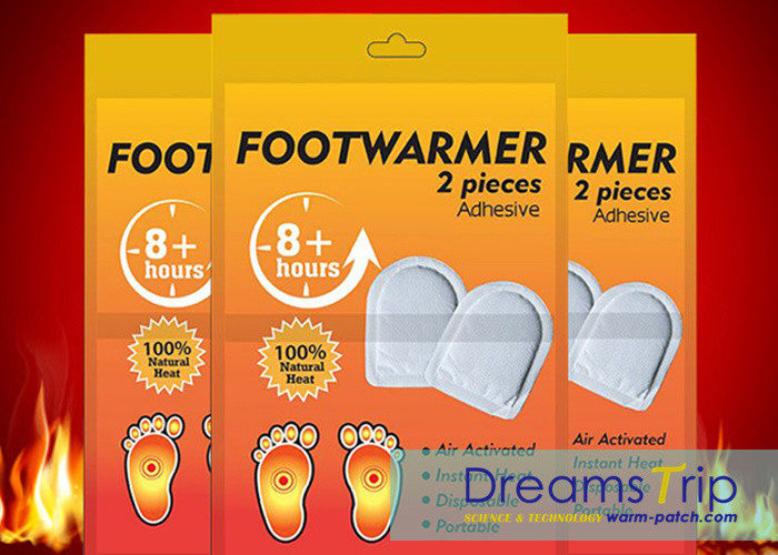 Air Activated Foot Warm Heated Pad Insole Toe Warmer Patch for Winter